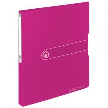 aus PP Farbe transparent klar DIN A4 16mm Füllhöhe Herlitz Ringbuch