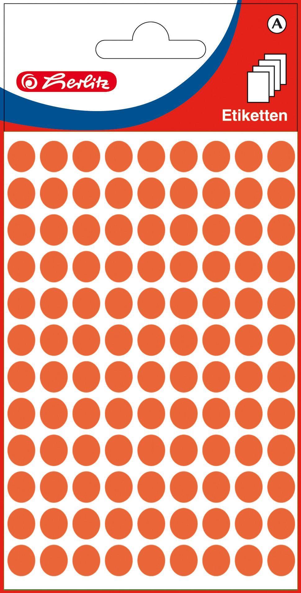 Rote Klebepunkte