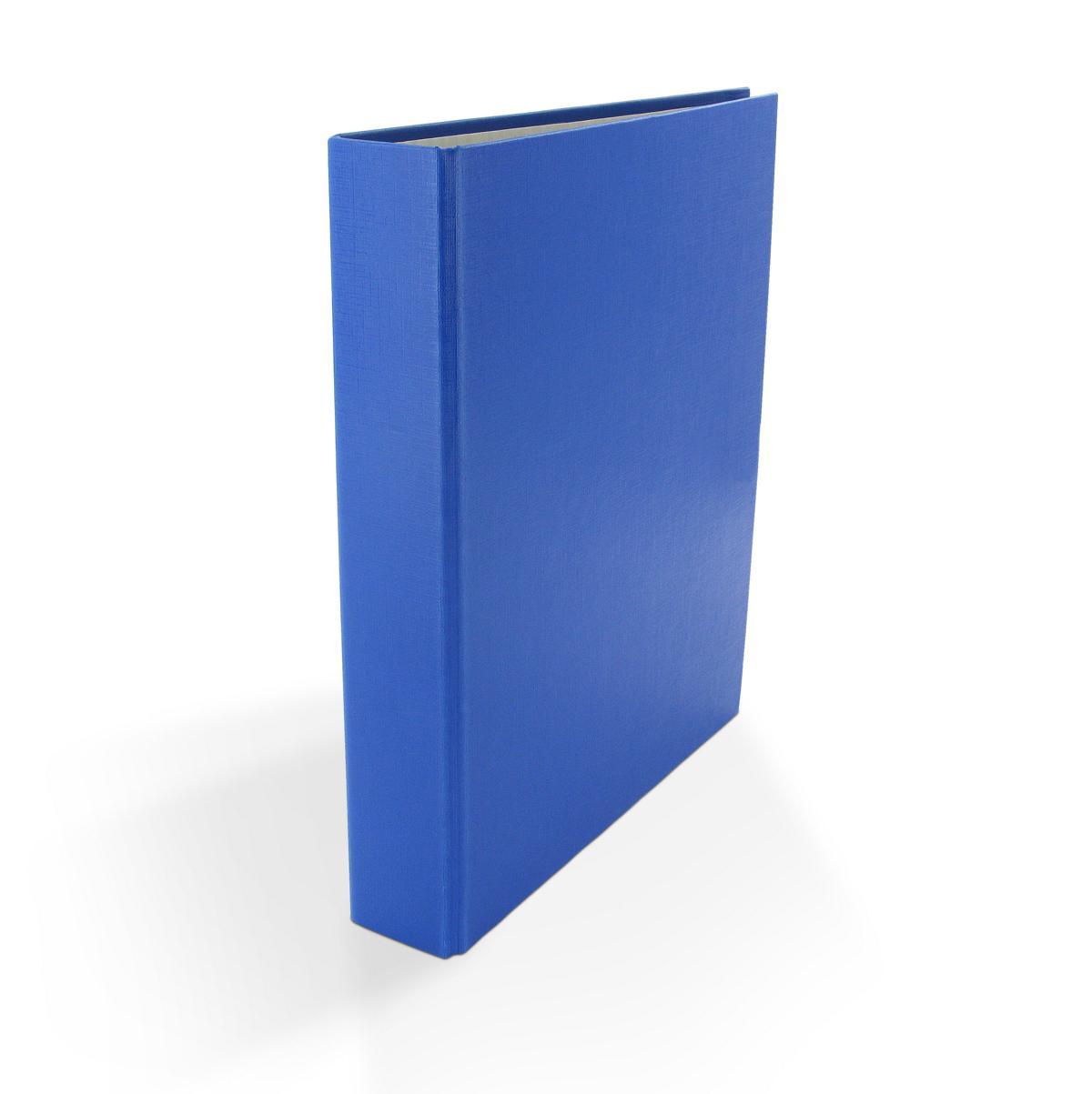 3x Ringbuch DIN A4 2-Ring Ordner Farbe rot und blau je 1x schwarz