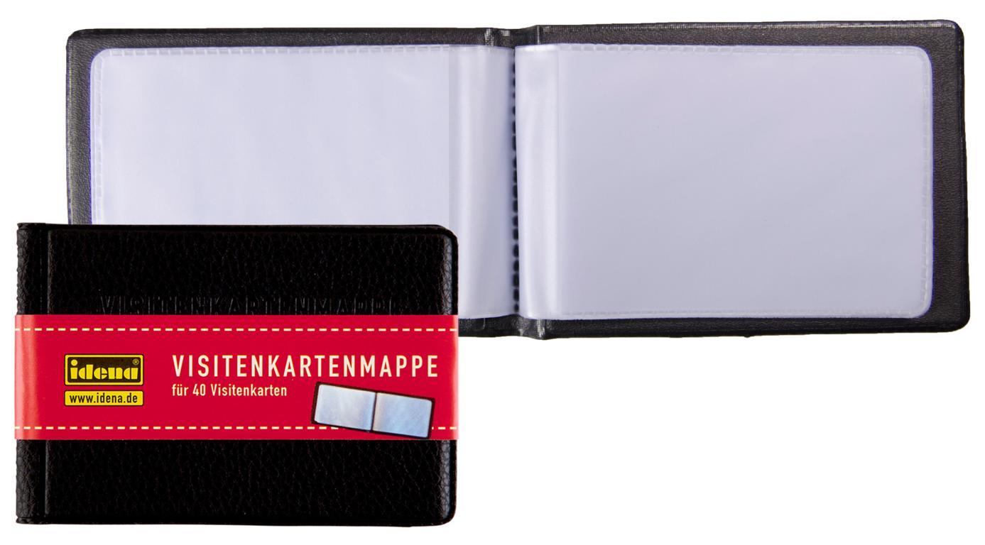 Visitenkartenbuch Visitenkartenmappe Für 40 Visitenkarten Größe 10x7cm