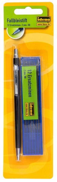 schwarz Druckbleistift 12 Minen HB Farbe Fallbleistift incl